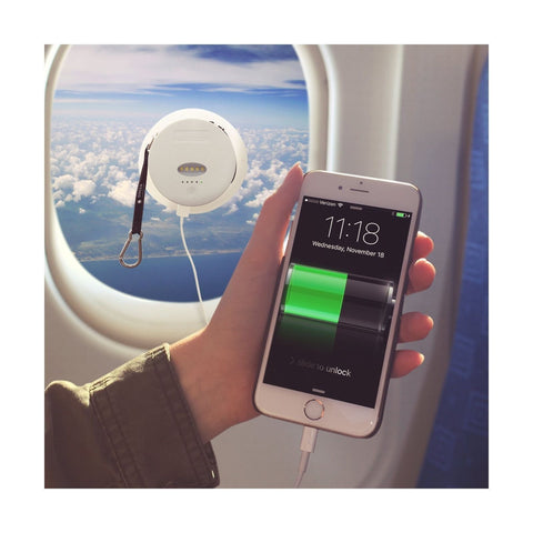 Solar Powered Phone Charger - External Battery Pack wi...