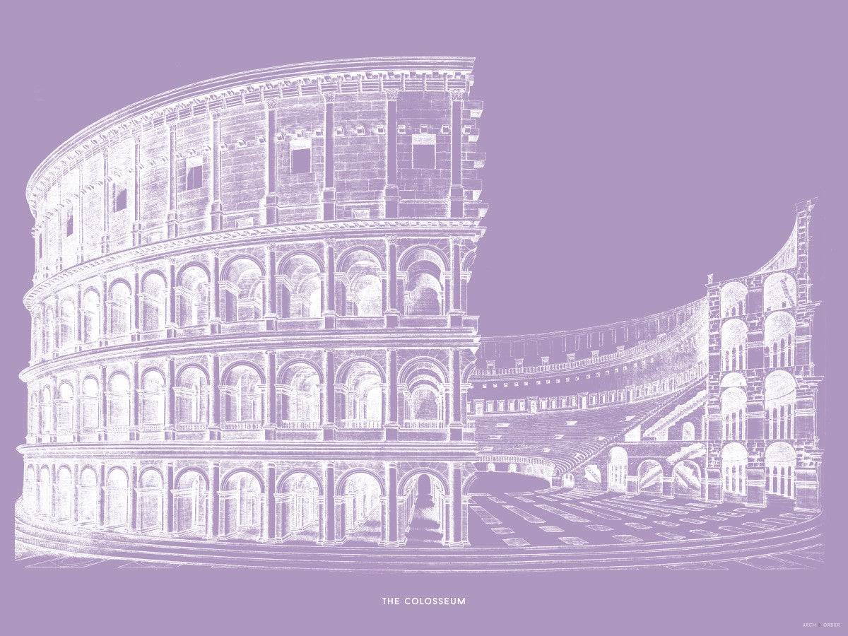 The Colosseum - Alternative Cross Section - Lavender -