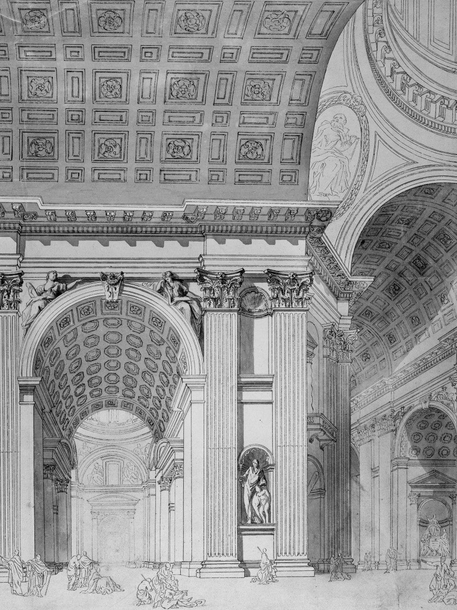 Saint Peter's Basilica - Interior Detail -