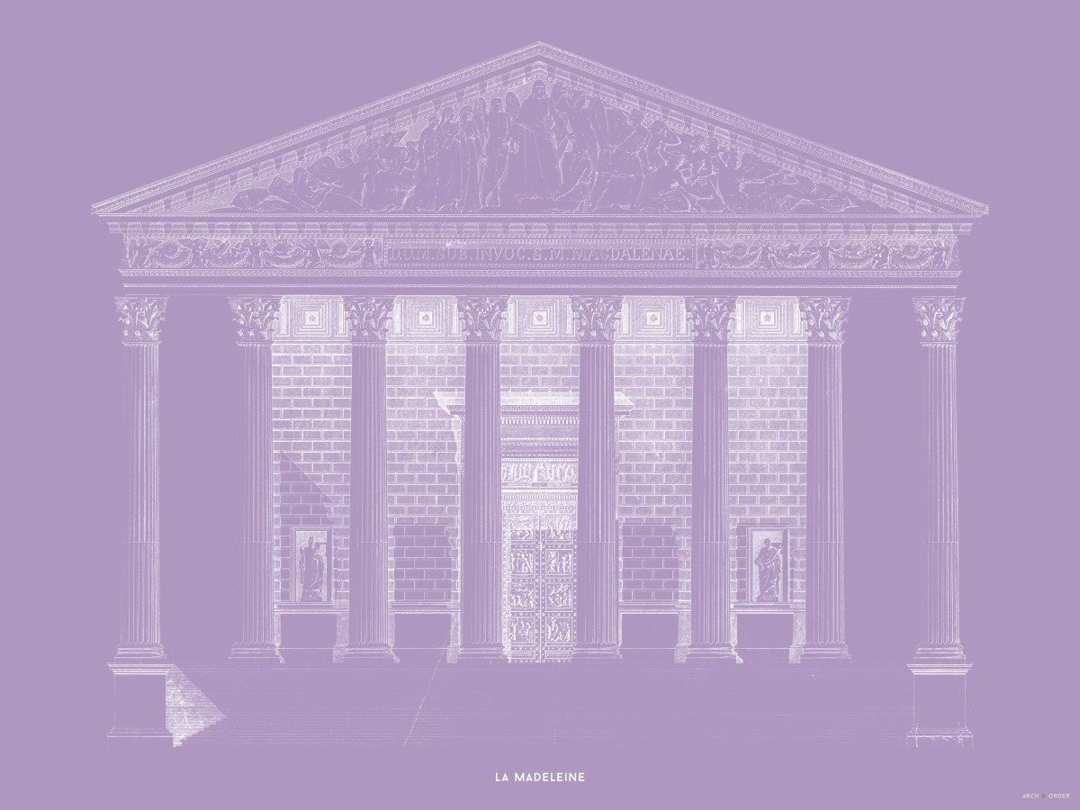 La Madeleine - Primary Elevation - Lavender -