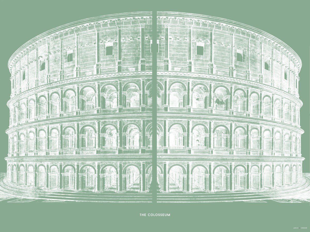 The Colosseum - Primary Elevation - Green -