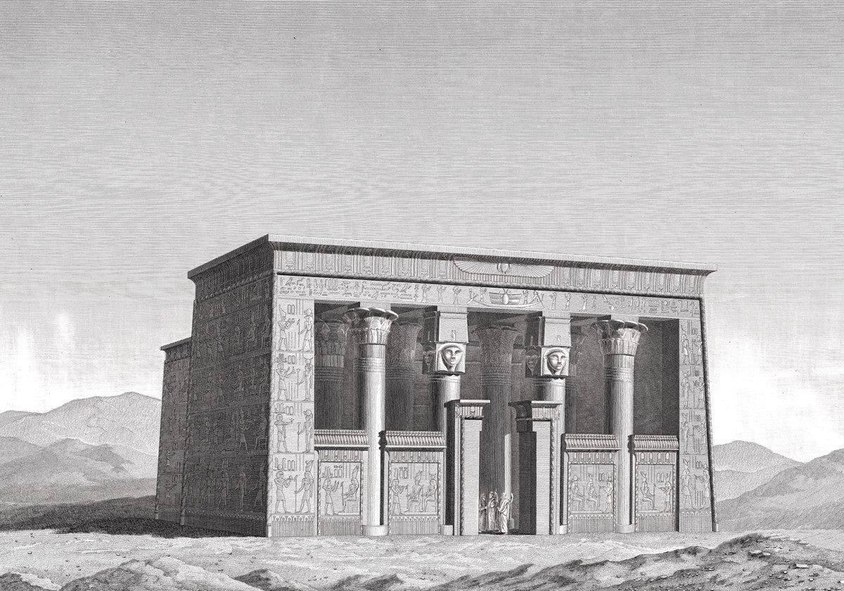 Lower Temple - Esna Egypt -