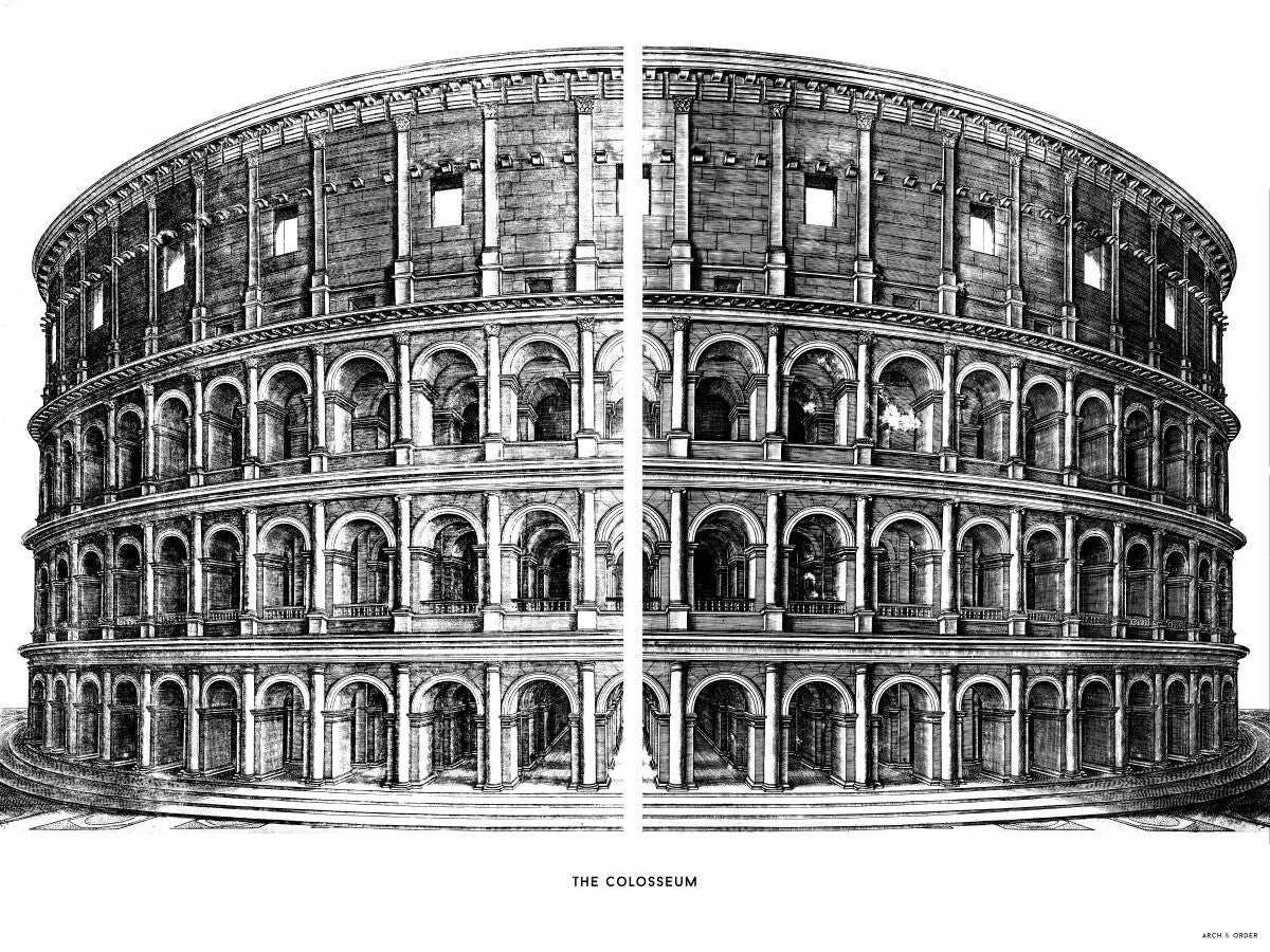 The Colosseum - Primary Elevation - White -