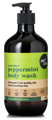 SimplyClean body wash Australian made