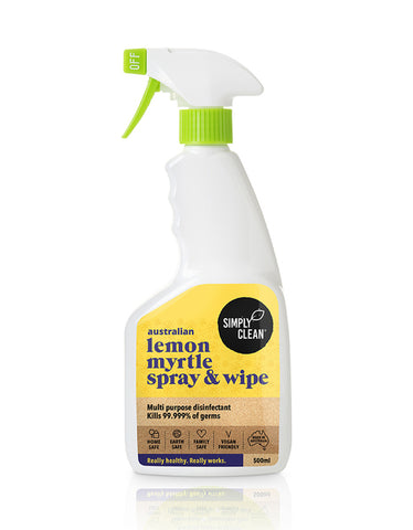 SimplyClean Spray and Wipe Australian made