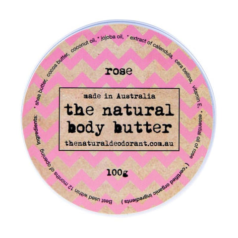 The Natural Deodorant Body Butter Australian made