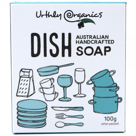 Urthly Organics Dish Soap: Australian made natural cleaning