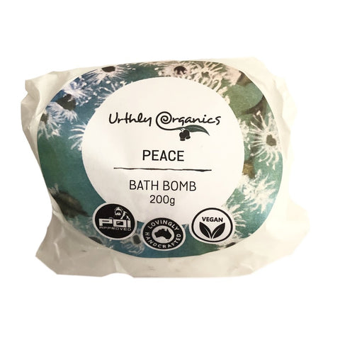 Urthly Organics Bath Bomb Australian made natural