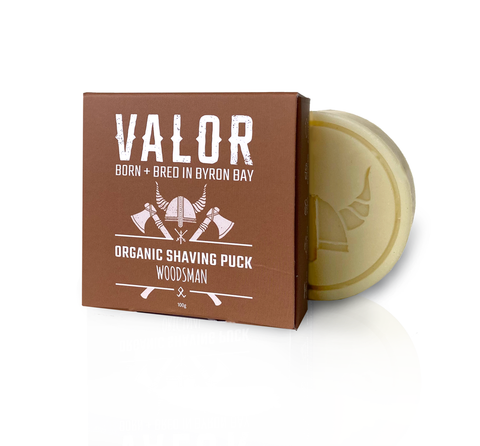Valor Organics Shaving Puck