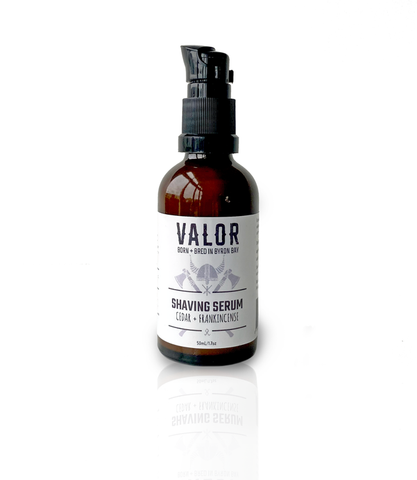Valor Organics Shaving Serum