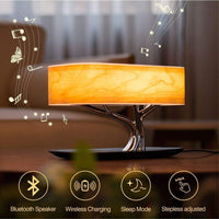 Smart  Lamp  Led  Bluetooth Wireless Speaker Charger  Living Room