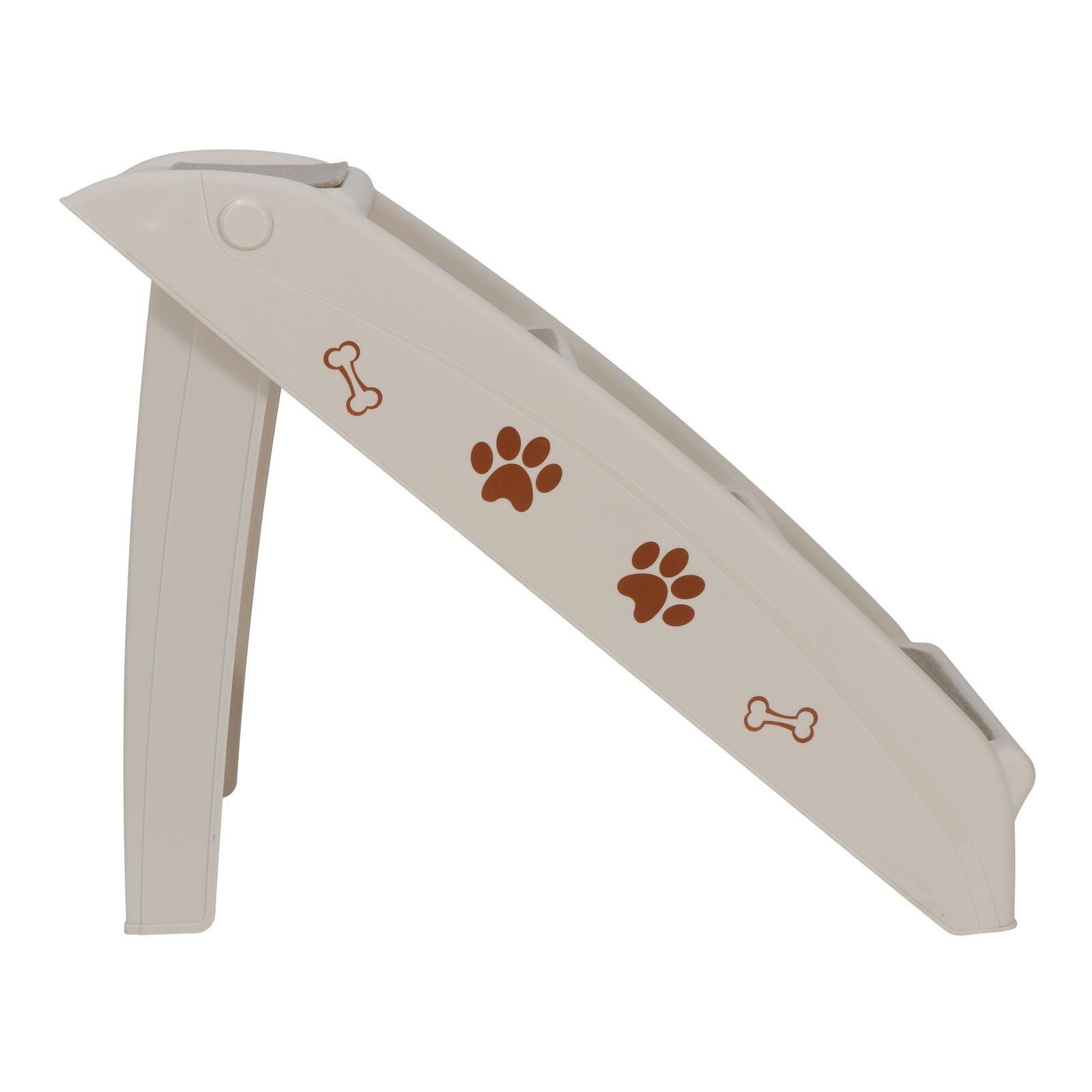 Pet Dog Cat Stairs 4 Steps Foldable Safe For Home Sofa Bed Car - HOMA plus