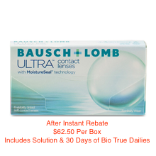 Bausch + Lomb ULTRA® 6-pack - BONUS PACKAGE!!