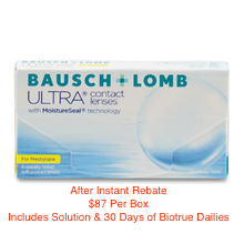 Bausch + Lomb ULTRA® for Presbyopia 6-pack