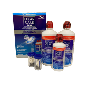 CLEAR CARE® Plus Eye Care Professional Pack