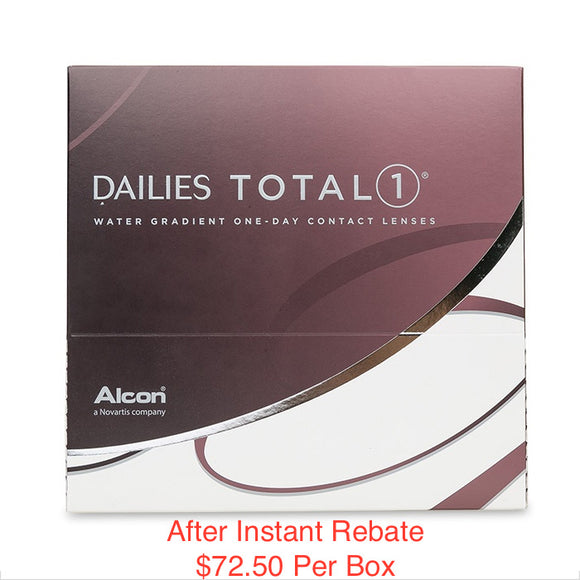 DAILIES TOTAL1® Sphere - 90 Pack