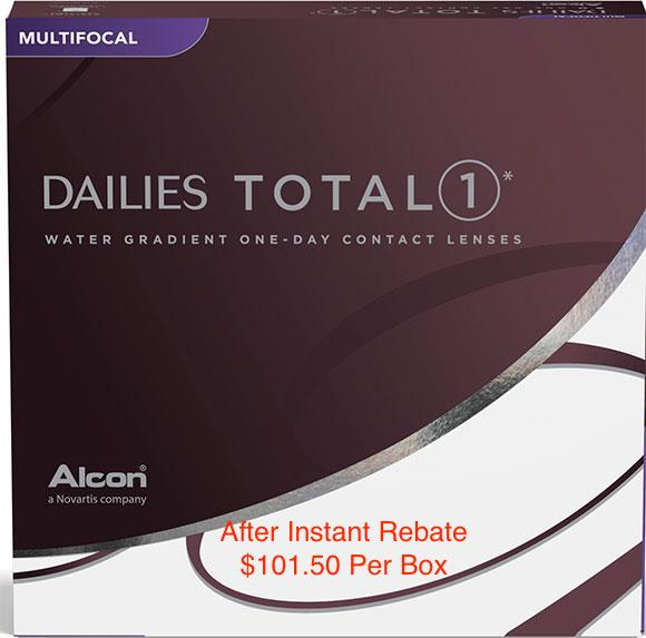 DAILIES TOTAL1® Multifocal 90-pack