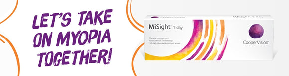 MiSight® 1 day - MYOPIA CONTROL