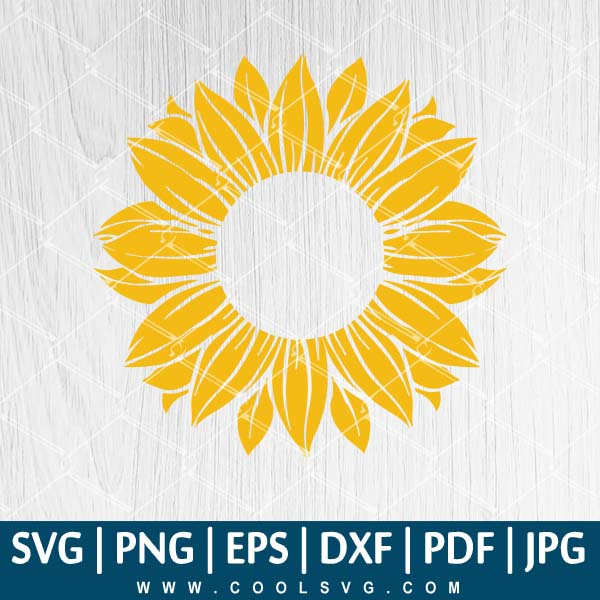 Sunflower Starbucks Svg Sunflower Svg Sunflower Starbucks Vector