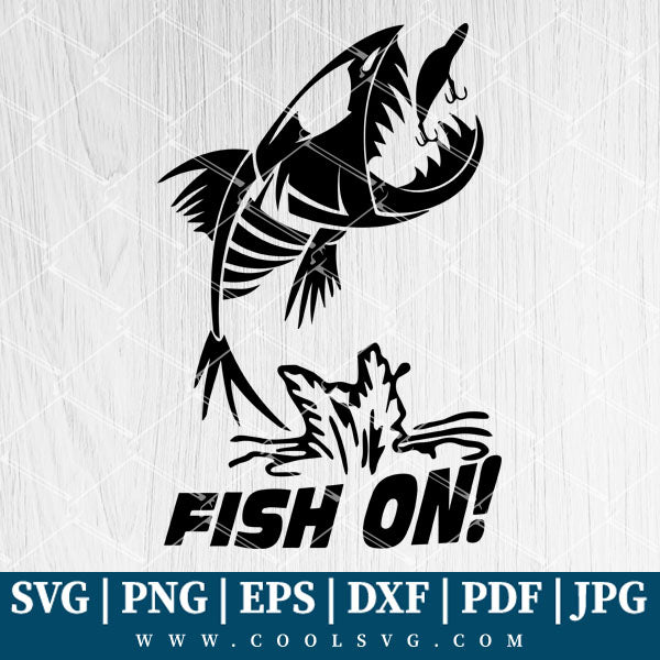 Download Fish On Svg Fish On Png Fishing Svg