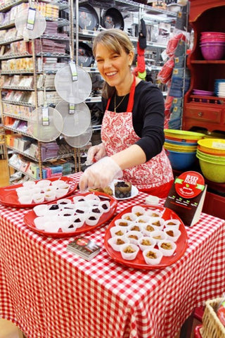 Becca Williams - Owner of Red Plate Foods - Serving Gluten Free Allergen Free Goodies with a Smile