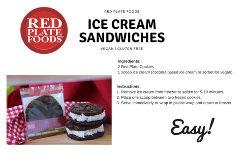 Ice Cream Sandwich Recipes - Easy Vegan Desserts