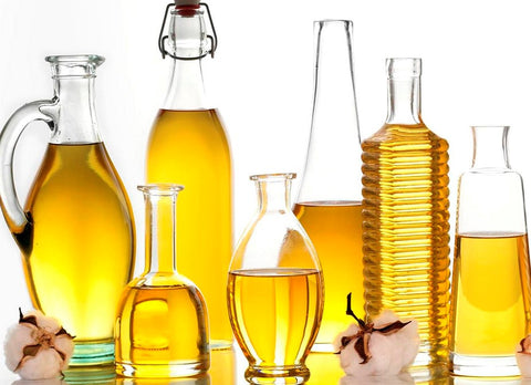 Fats & Oils in glass beakers