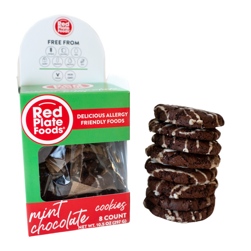 Mint Chocolate Cookies - 1 box | 8 cookies
