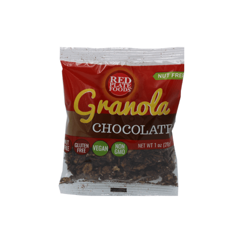 Chocolate Granola 60 Single Serve Packets - Nut Free + Gluten Free + Vegan