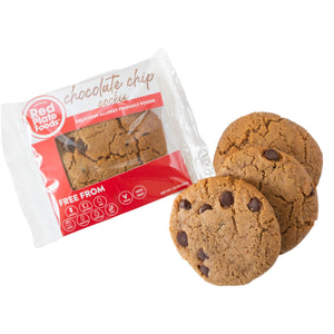 Package of Gluten Free Chocolate Chip Cookies
