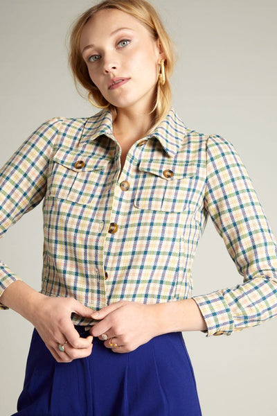 Elisa Jacket - Maverick check