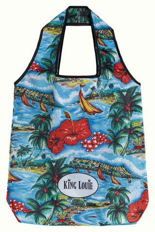 Great White Eco Bag - Atlantic Blue