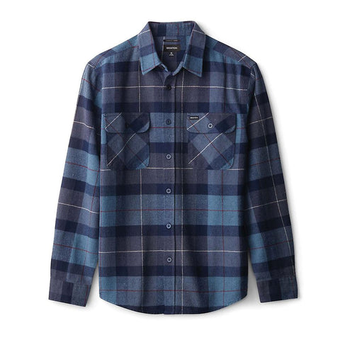 Bowery Flannel Carolina Blue