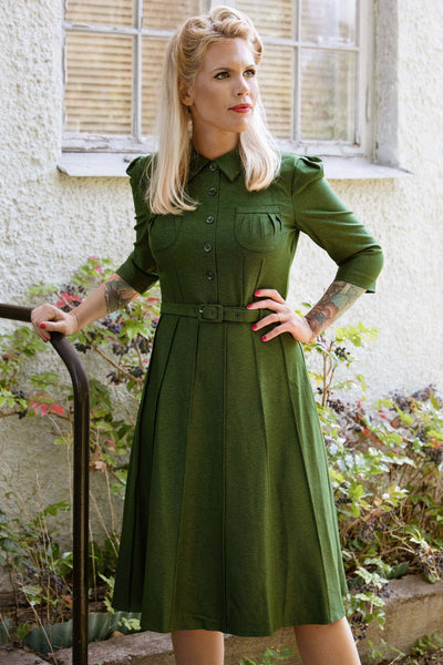 Lea Dress - green