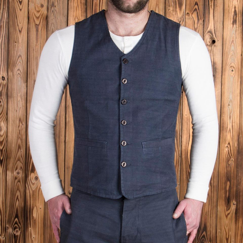 Pike Brothers 1905 Hauler Vest denim