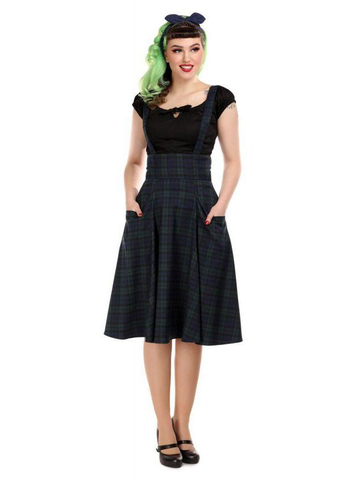 Alexa Blackwatch Swing Skirt