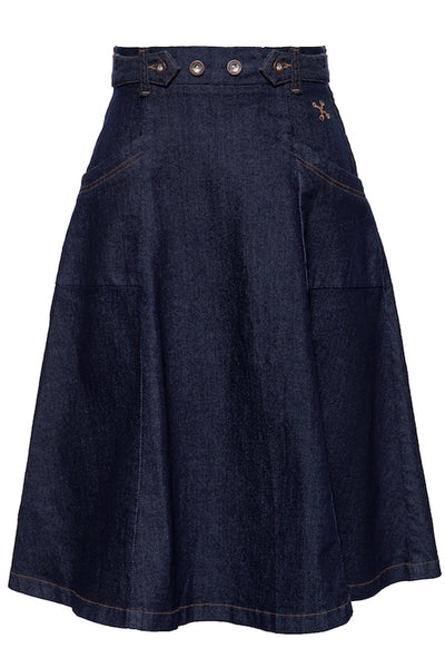 Denim Swing Rock - darkblue rinsed wash