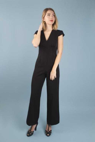 Venice Jumpsuit - black