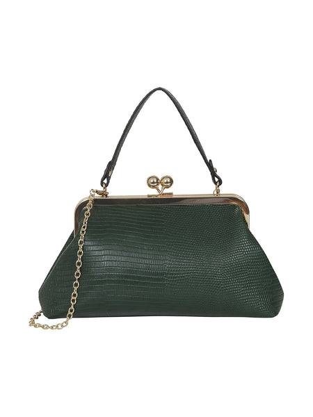 Doris Croc Bag green
