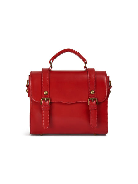 Joanna Satchel Bag red