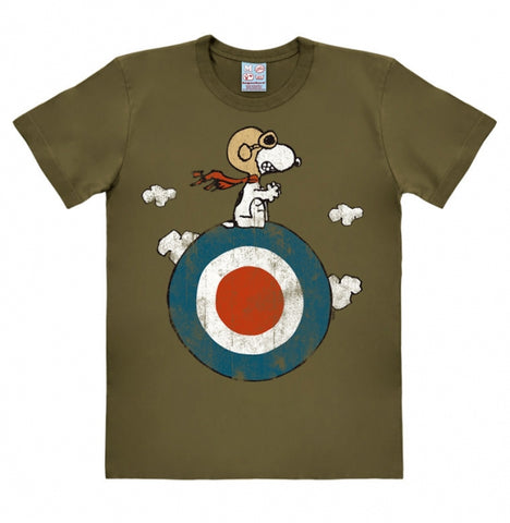 Snoopy Shirt olive