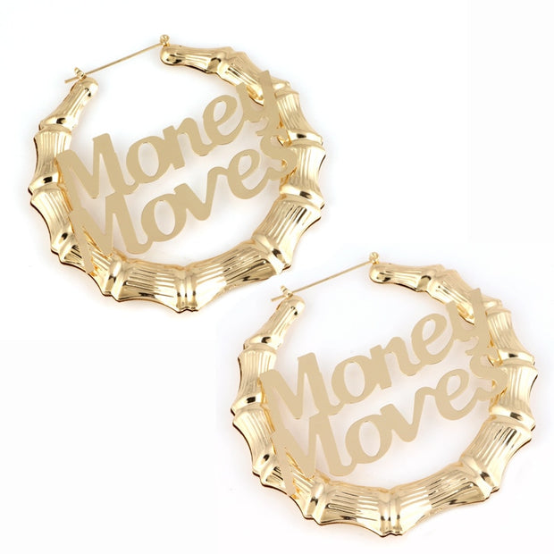 Vintage Gold Silver Earrings