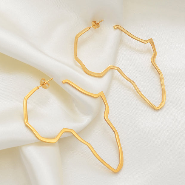 Earring Gold Color