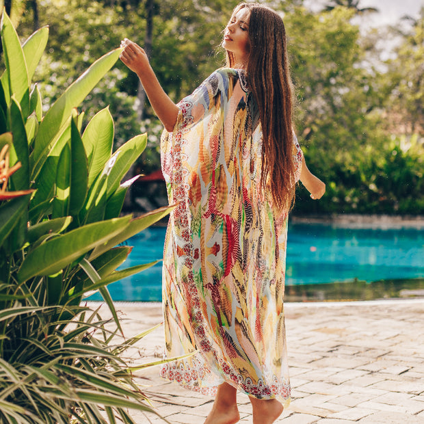 Printed Summer Beach Dresses