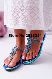 Colorful Bling  Flat Casual Slipper