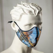 "Load image into Gallery viewer, Custom-Printed ""Full Bleed"" Mask (1-Pack)"