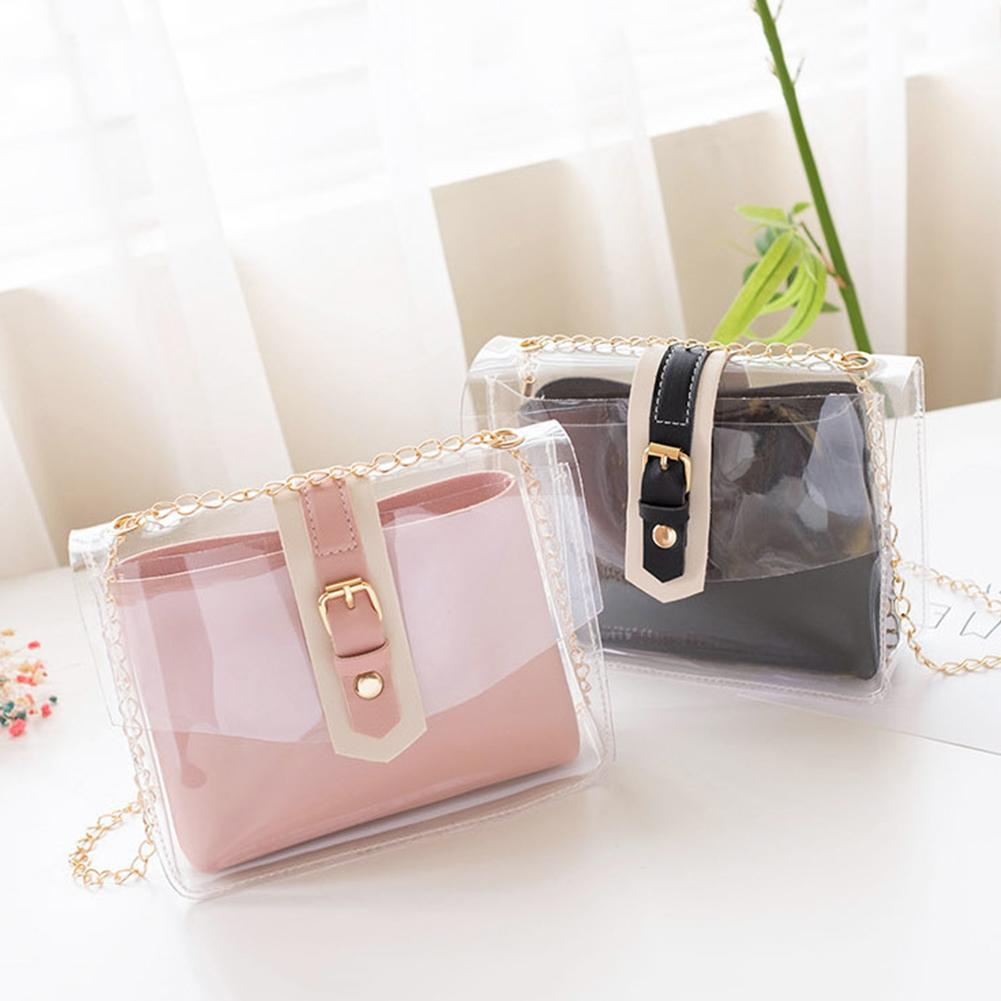 Transparent Crossbody Jelly Shoulder Bag Phone Purse