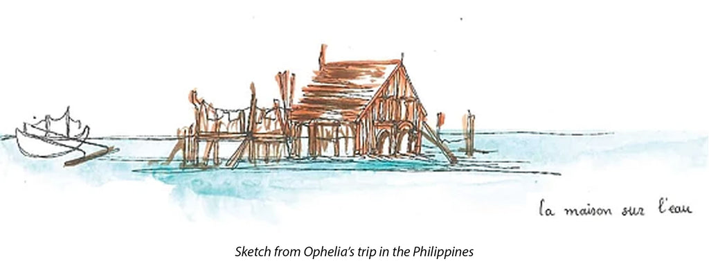 Sketch from Opheli'a trip in the Philippines