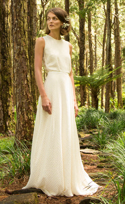 Olympe silk maxi dress Odysay
