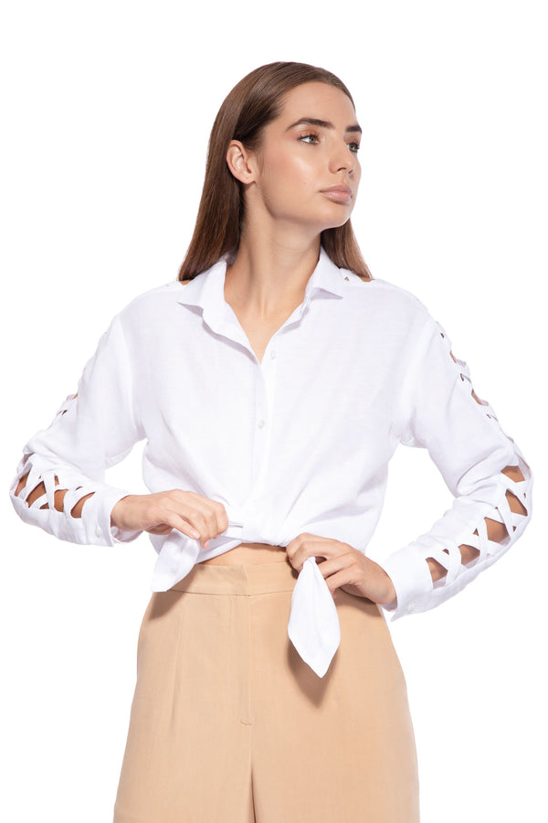 Josephine Linen and Tencel Blend Shirt